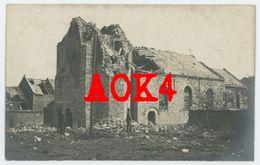 62 NOYELLES SOUS BELLONNE Eglise Arras 1917 Nordfrankreich IR 163 Artois Lecluse - Autres Communes