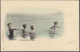 Baigneuses - Mer Calme - Pin-Ups