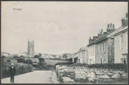 Breage Churchtown, Cornwall, 1905 - Cornish Gem Postcard - England