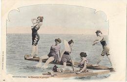 Baigneuses - La Planche à Plonger - Pin-Ups