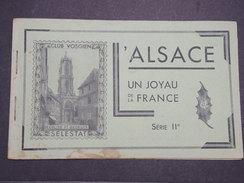 FRANCE - Carnet Un Peu Fatigué ... De Vignettes Sur L'Alsace (édité Par Le Club Vosgien) - Incomplet - Série II - P22103 - Commemorative Labels