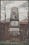 Highland Mary's Monument, Greenock, Renfrewshire, C.1905 - Irish Pictorial Card Co Postcard - Renfrewshire
