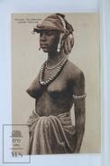 Old Africa Postcard - Afrique Occidentale - Jeune Foulan - Circa 1910 - África