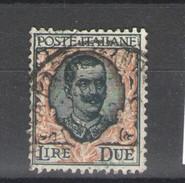 REGNO 1923 2 LIRE USATO - Mint/hinged
