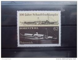 Österreich  100 Jahre Schaufelraddampfer Hohentwiel    2013   ** - Barcos