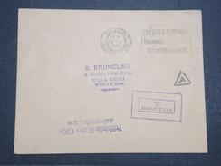 FRANCE - Env Taxée Dijon Pour Troyes - Sans Timbre - 1943 - P22108 - Marcophilie (Lettres)