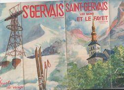 (Saint Gervais Et Le Fayet)  (74 Haute Savoie), Dépliant (PPP6306) - Dépliants Touristiques