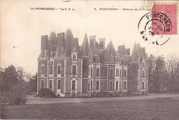 50. PONTORSON. CPA. CHÂTEAU DE LA CRENNE. ANNÉE 1905. TEXTE - Pontorson