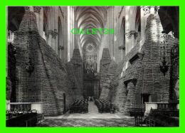 MILITARIA - AMIENS (80) CATHÉDRALE NOTRE-DAME - PROTECTION DU PATRIMOINE CIVILE & RELIGIEUX - COFFRAGES, SACS DE SAB - Guerre 1914-18
