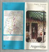 Dépliant Touristique, 24 Pages , Argentina , Argentine , REGION NOROESTE , Frais Fr : .1.95 E - Tourism Brochures