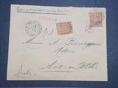FRANCE - Env Recommandée Et Chargée Paris Pour Aix En Othe (Aube) - Joliment Affranchie - Août 1885 - P22114 - Marcophilie (Lettres)