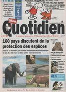 MON QUOTIDIEN 05 11 2002 - CHILI CITES PROTECTION ANIMALE - ESPECES MENACEES - CHOUETTE HULOTTE - SAN GIULIANO DI PUGLIA - 1950 - Nu