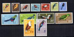 Serie Nº 64/77 Uganda - Birds