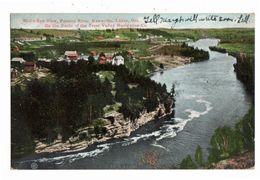 FENELON FALLS, Ontario, Canada, BEV & River, Kawartha Lakes, S/R Cartier Ontario, 1909 Postcard, Victoria County - Ontario