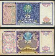 °°° UZBEKISTAN - 25 100 SUM 1994 °°° - Uzbekistan