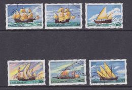 Sao Tome E Principe 1979 Sailing Ships 6v  Used (37127) - Sao Tome En Principe