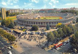 """D6983 """"TORINO - LO STADIO COMUNALE"""" ANIMATA, AUTO, BUS, S.A.C.A.T. 271  CART NON SPED - Stadiums & Sporting Infrastructures"""