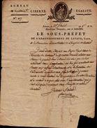 23 Floréal An 9 - Copie Lettre Du Ministre De L'intérieur Abus Sur L'application Des Lois - Signature Fouquier - Lavaur - Manuscripts