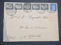 FRANCE - Env D'un Prisonnier De Burendorf (All) Pour Alfortville - 1942 - Légèrement Déchirée En Pied A Gauche - P22121 - France