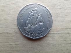 East  Caraibes  1  Dollar  2004  Km 39 - British Caribbean Territories