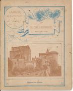 Couverture De Cahier - Château De Loches - Charier, Saumur - Protège-cahiers