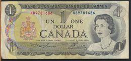 °°° CANADA - 1 $ DOLLAR 1973 °°° - Canada