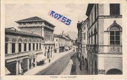 Veneto-vicenza-thiene Corso Garibaldi Bella Veduta Anni 30 - Italia