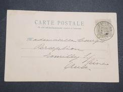 FRANCE - Carte Postale Avec Cachet Spécial SENAT - Paris Pour Romilly Sur Seine (Aube) - P22124 - Marcophilie (Lettres)