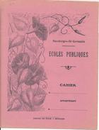 Couverture De Cahier - Ecoles Publiques De  Sassiergues Saint Germain - Protège-cahiers
