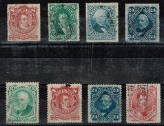 Argentine - 1876 - 1877 - Y&T N° 33 à 40, Oblitérés - Corrientes (1856-1880)