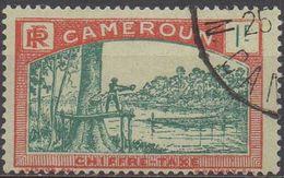 CAMEROUN    TAXE  N°11__OBL  VOIR  SCAN - Cameroun (1915-1959)