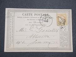 FRANCE - Précurseur Pour La Somme - A étudier - Août 1875 - P22126 - Marcophilie (Lettres)