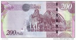 BOTSWANA P. 34c 200 P 2012 UNC - Botswana