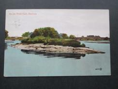 AK GB Schottland 1923 On The River Cart, Renfrew. Renfrewshire. Gesendet Nach Pesth Ungarn. Valentine's Series - Renfrewshire