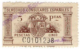 (I.B) Spain Revenue : Consular Service 5ptas - Spain