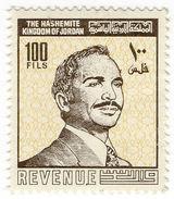 (I.B) Jordan Revenue : Duty Stamp 100f - Jordan