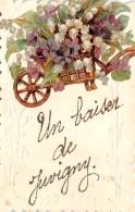 02 - AISNE / 022243 - Juvigny - Très Belle Carte Fantaisie - France