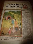 1949 LSDS  (La Semaine De Suzette) : Sylvie Et Sylvaine ,filles D'un Bûcheron En Finlande; Etc - La Semaine De Suzette
