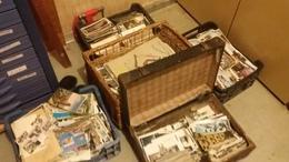 Lot De 5 Caisses De Cartes Postales A Prendre Sur Place CPA.CPSM.CPM (Vitry Sur Seine 94400) - Cartes Postales