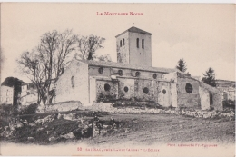Cpa SAISSAC Près LAMPY - L'Eglise - France