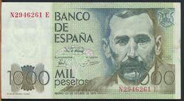 °°° SPAIN - 1000 PESETAS - 1979 °°° - [ 4] 1975-… : Juan Carlos I