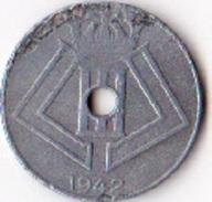 Belgique Pièce De 10 Centimes Léopold 3 Type Jespers Belgique Belgie1942 - 02. 10 Centimes