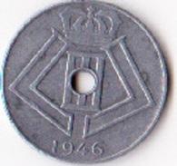 Belgique Pièce De 10 Centimes Léopold 3 Type Jespers Belgie Belgique1946 - 02. 10 Centimes
