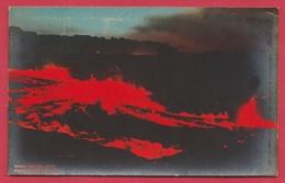 Hawaii National Park - Kilauea Volcano .. Volcanic Eruption 1960 - 2 (see Always Reverse ) - Verenigde Staten