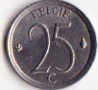 Belgique Pièce De 25 Centimes  Baudoin 1er En Néerlandais 1964 - 02. 25 Centimes
