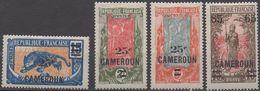 CAMEROUN     N°101/104__ NEUF* VOIR  SCAN - Cameroun (1915-1959)