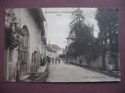 CPA 01 CHAMPAGNE EN VALROMEY Rue ANIMEE  1941 Canton HAUTEVILLE LOMPNES - France
