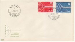 1957 - SVIZZERA  FDC EUROPA CEPT VEDI++++ - Europa-CEPT
