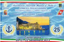 Marina - Castellabate (SA) - 2013 - Venticinquennale Gruppo A.N.M.- - Autres