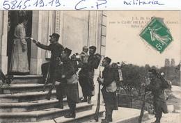 Militaria  : Creuse  -  ( Camp De Courtine ) - Weltkrieg 1914-18